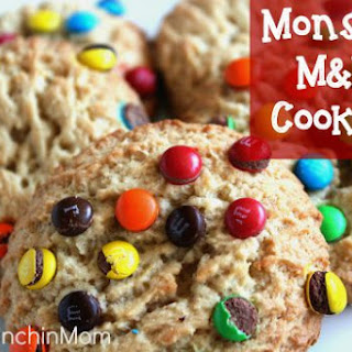 Fluffy and Moist - M&M Cookies