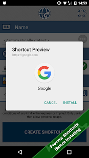 Website Shortcut Screenshot 2