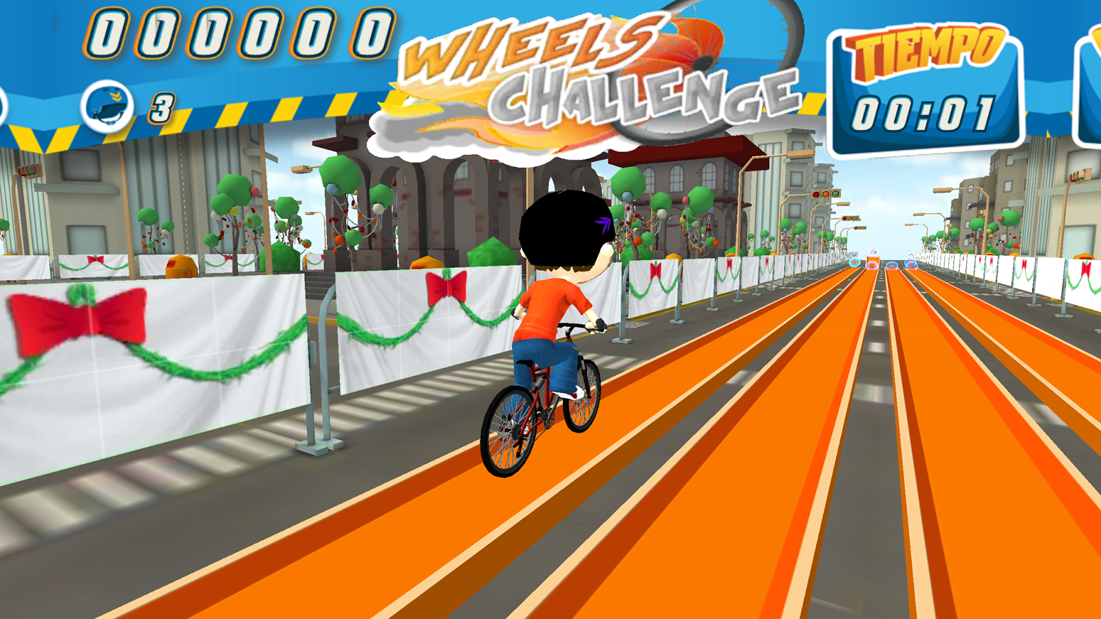 Wheels Challenge- screenshot