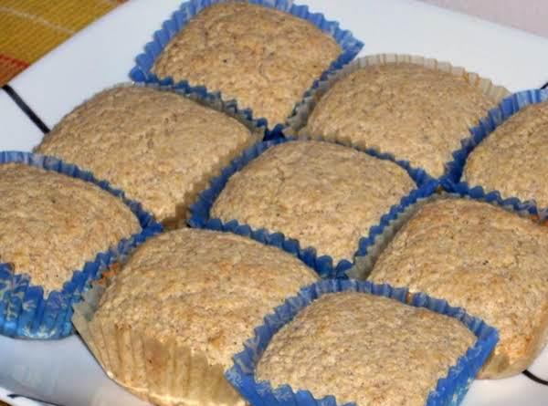 Wheat Germ And Cornmeal Muffins