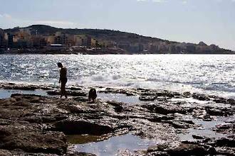 Photo: Bugibba shores