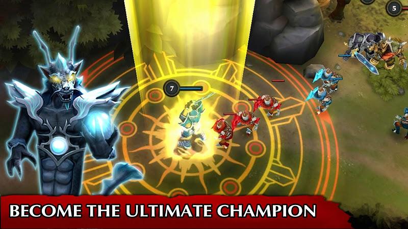 Legendary Heroes MOBA Screenshot 0
