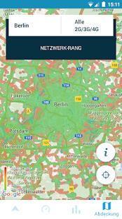 Geschwindigkeits-Test 3G & 4G Screenshot