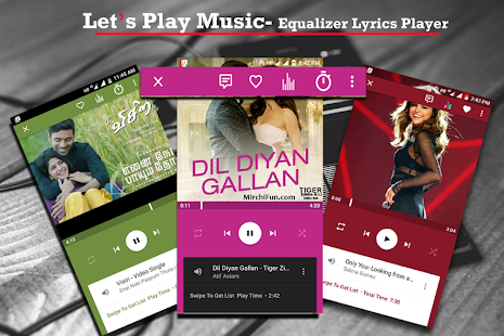 Lets Play Music-Equalizer Lyrics Tag Edit Player - náhled