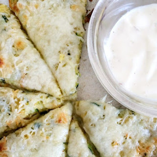 Parmesan Ranch Zucchini Pizza- Easy & Low Carb!.