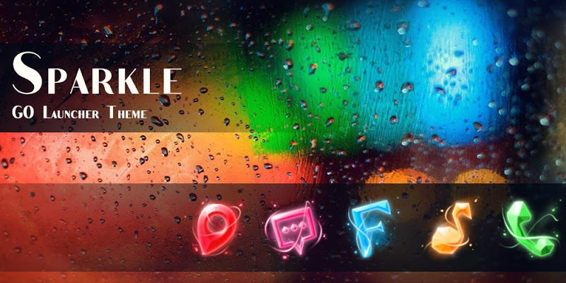 Скриншот (FREE)Sparkle GO Theme