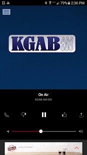 KGAB 650AM - Cheyenne's News Talk Leader - náhled