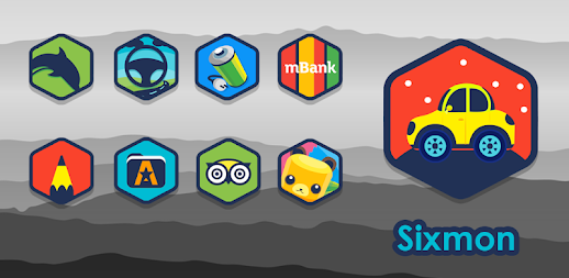 Sixmon - Icon Pack APK