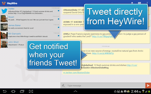GoHeyWire Text FREE Texting screenshot 3