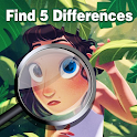 Find 5 Differences icon
