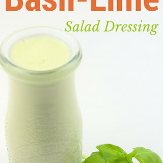 Basil-Lime Salad Dressing