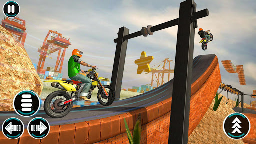 Bike Stunts Game u2013 Free Games u2013 Bike Games 2021 3D apktram screenshots 3