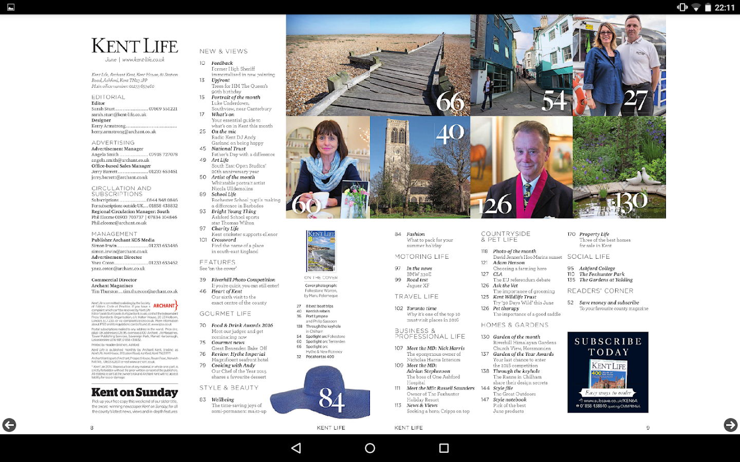 Kent Life Magazine- screenshot