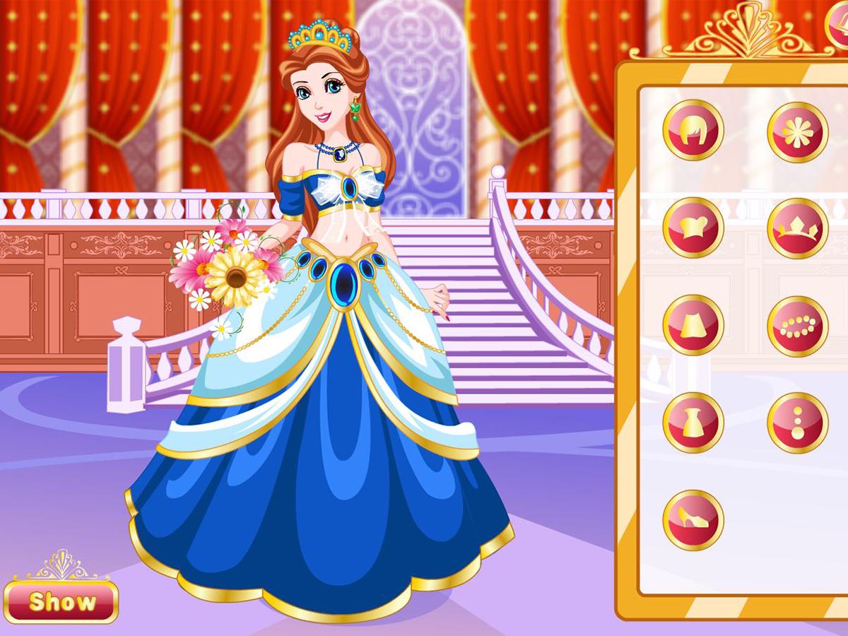 Dress up princess games - Dream Princess Dress Up Screenshot
