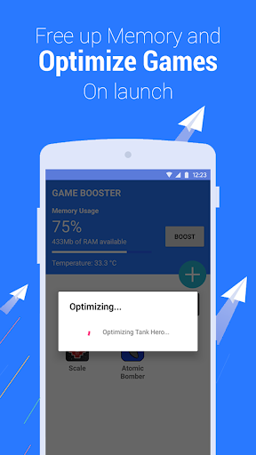Game Booster - Play Games Smoother and Faster 1.8 screenshots 2