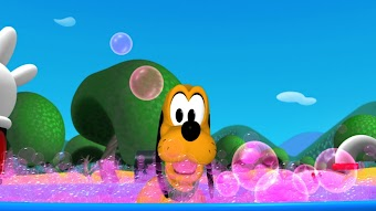 Pluto's Bubble Bath
