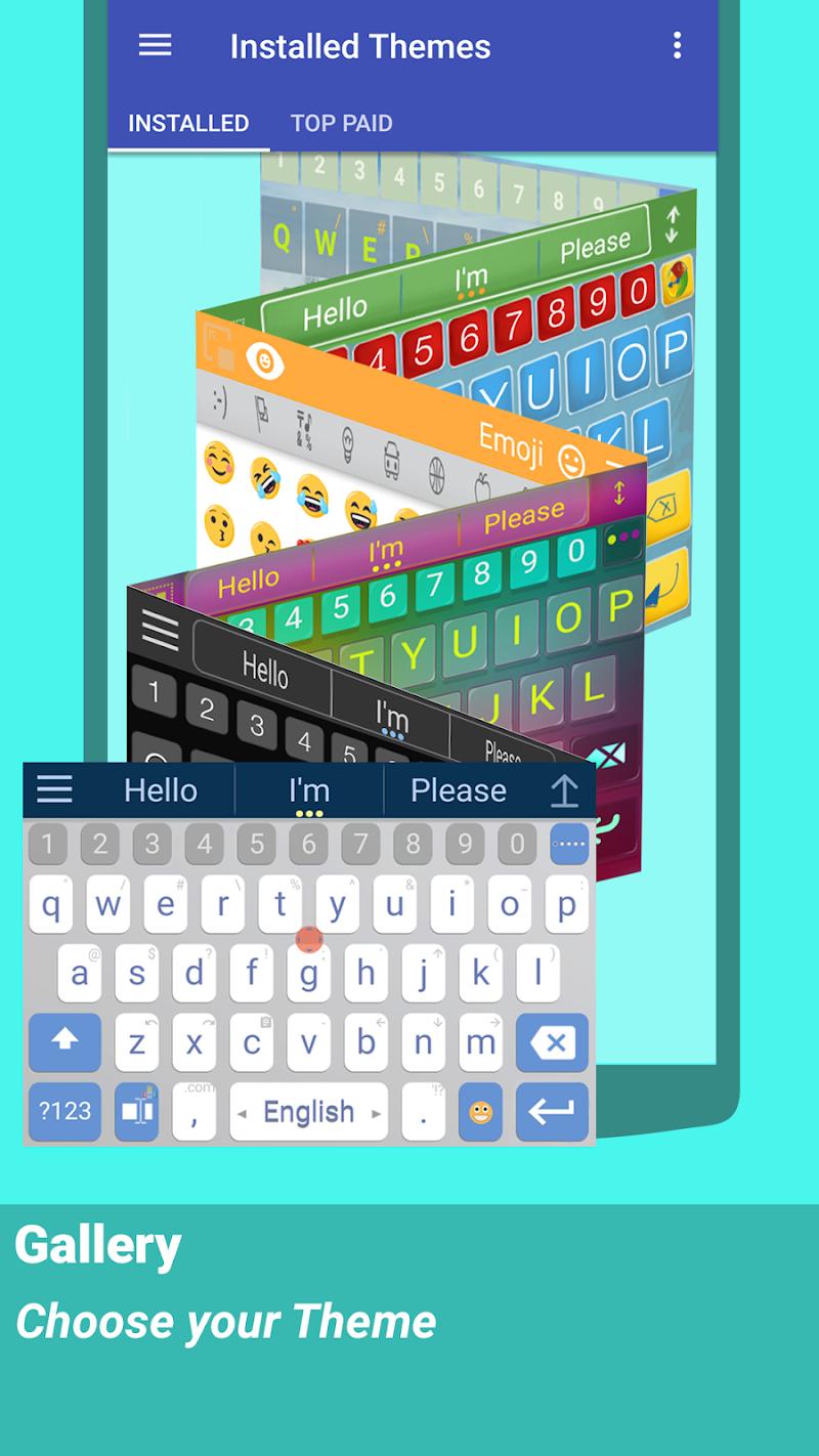 ai.type keyboard Plus + Emoji Screenshot 17