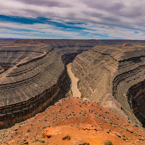 Goose Neck State Park by Chad Roberts - Landscapes Deserts ( goose neck, desert, erosion, state park, san juan, river,  )