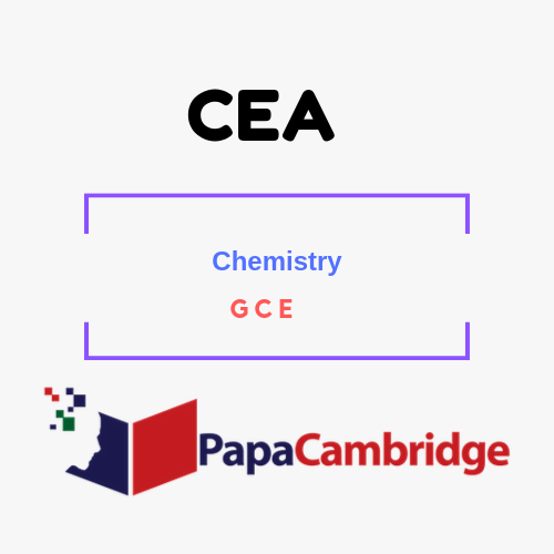 CHEMISTRY General Certificate of Education PPT Slides