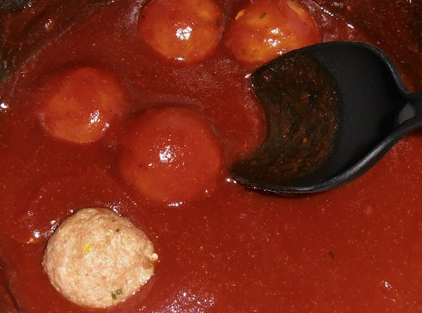 in a large stock pot add all the sauce ingredients. simmer and stir unitl...