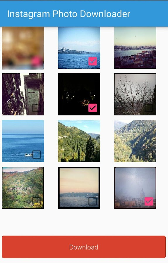 Photo Downloader for Instagram- screenshot