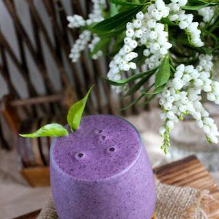 Vibrant Blueberry Smoothie