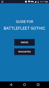 Guide for Battlefleet Gothic - náhled