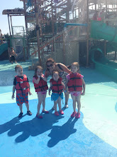 Photo: Kids & Sandy at the waterpark