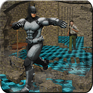 Bat Superhero Prison Escape Story