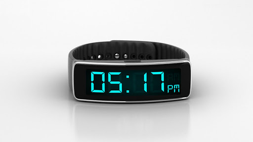 Modern Digital Clock 4 GearFit