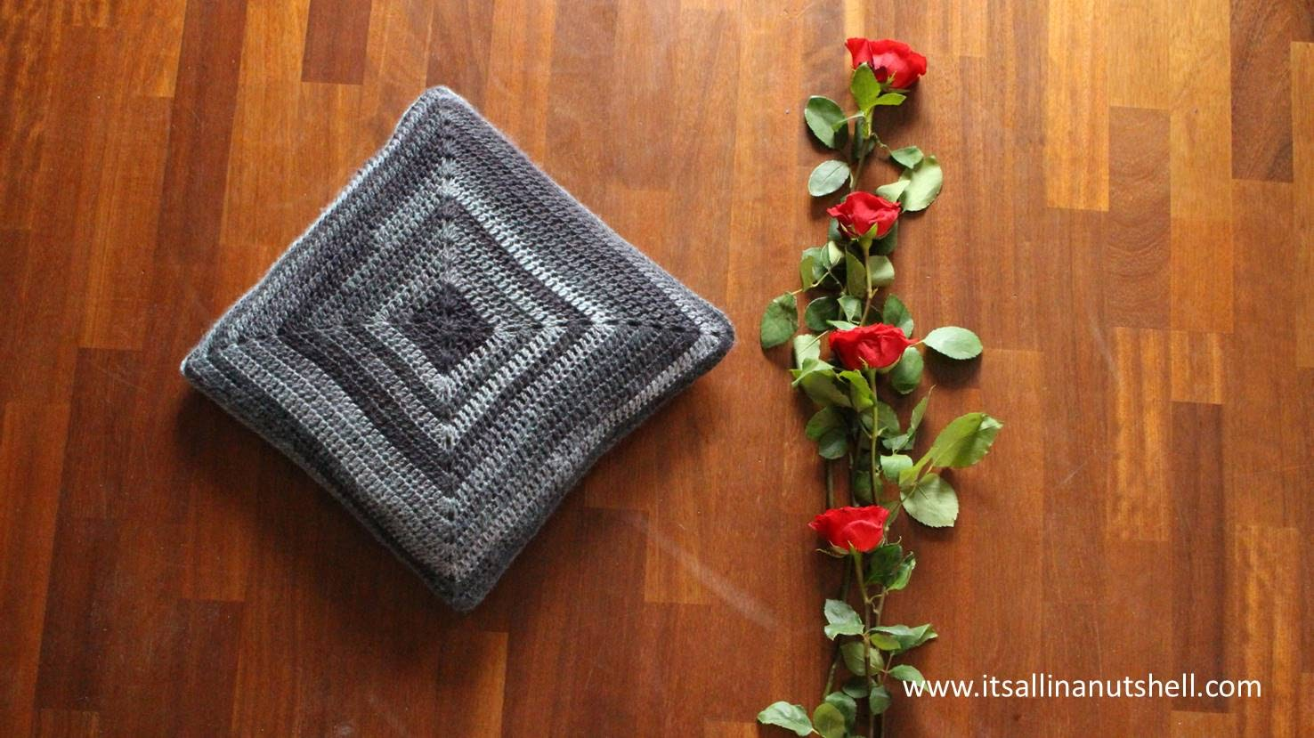 Joy's Cushion free crochet pattern