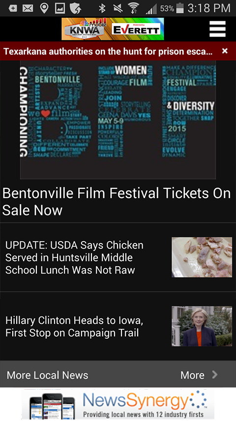 KNWA Northwest Arkansas News- screenshot