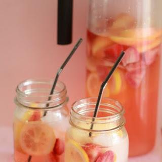 White Strawberry-Lemon Sangria Recipe