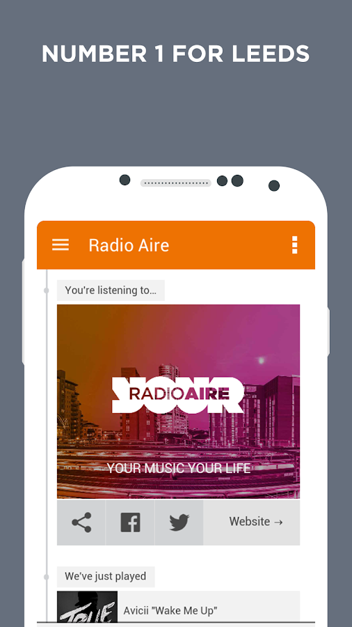 Radio Aire- screenshot