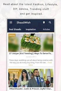 ShaadiWish - Wedding Planning App - náhled
