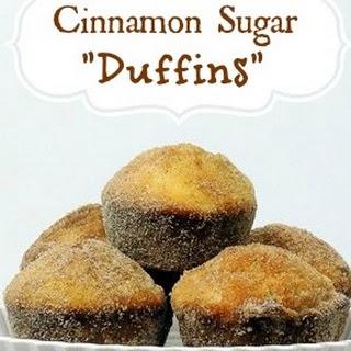 "Cinnamon Sugar ""Duffins"" Recipe"