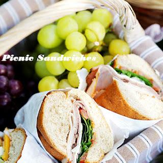 Picnic Sandwiches - Veggie Sandwich