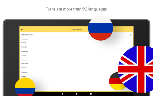 Yandex.Translate u2013 offline translator & dictionary  screenshots 6