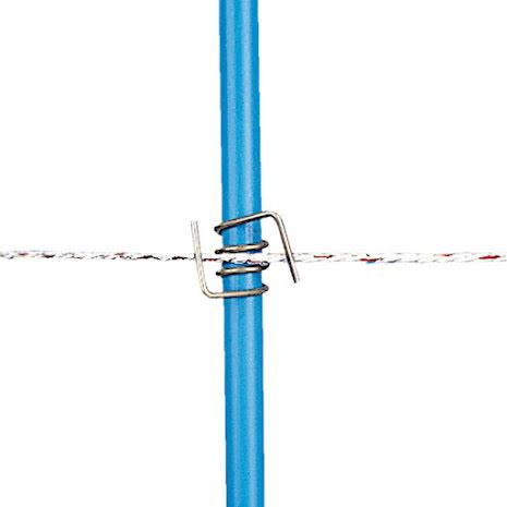 Clips för PVC-stolpe