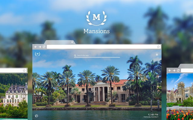 Mansions HD Wallpapers New Tab Theme