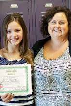 Photo: Kylee and her teacher Mrs. Snell! October 3, 2013