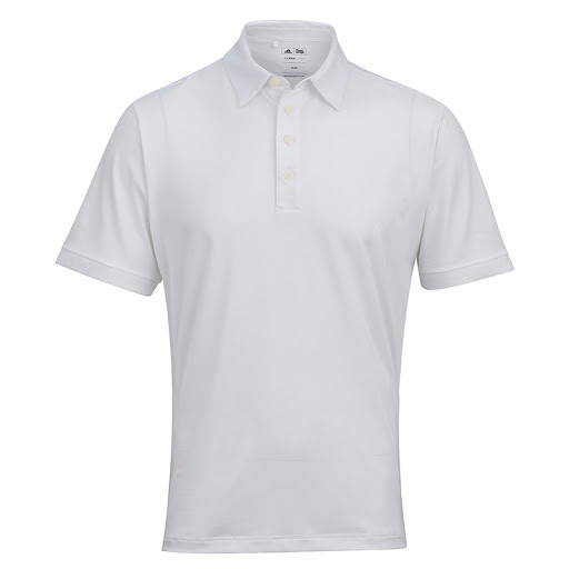 Adidas ClimaLite Polo Shirt White