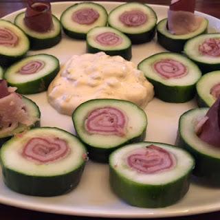 Cucumber Sushi Sandwich.