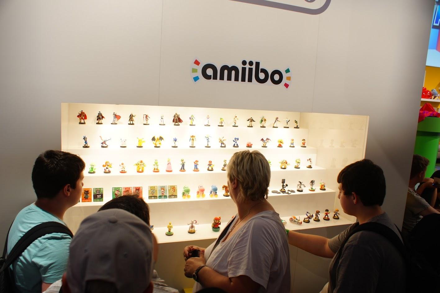 Gamescom 2015 amiibo Nintendo