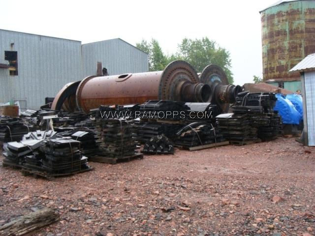 Photo: 8ft x 21ft Ball Mill