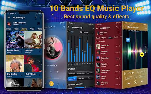 Music Player – 10 Bands Equalizer MP3 Audio Player 1.5.0 MOD + APK + DATA Download 1