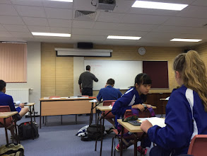 Photo: Day 12: Final Day in Classroom
