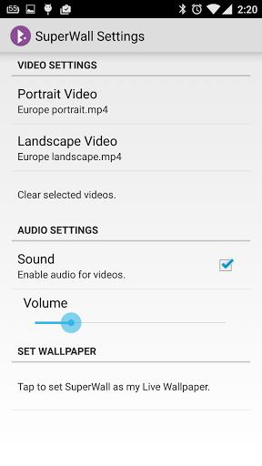 wallpaper video