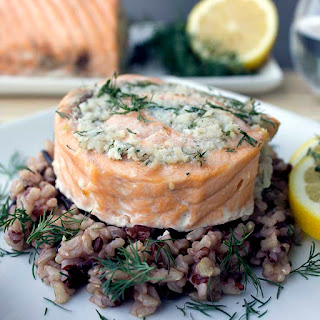 Easy Salmon and Crab Rolls