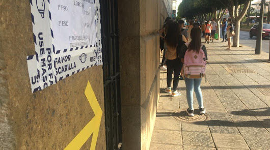 81.000 alumnos de Secundaria, Bachillerato y FP vuelven este martes a las aulas